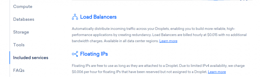 Load Balancers DigitalOcean