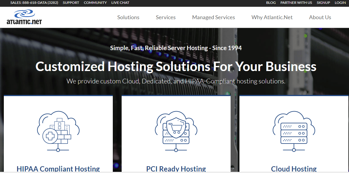 Atlantic.net Hosting